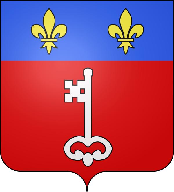 Porte Cle Symbole Ville France